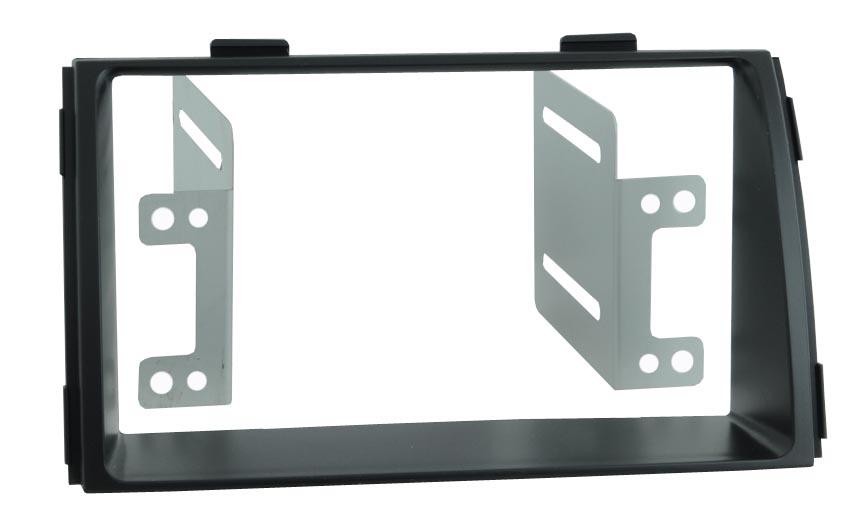 Переходная рамка Intro RKIA-N23 для KIA Sorento-3 09-12 2DIN (крепеж) переходная рамка intro rvw n07 для volkswagen touareg 03 multivan 03 transporter t5 04 2din