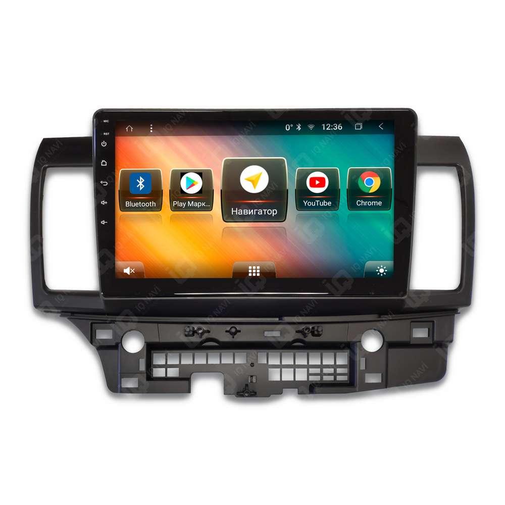цена на Автомагнитола IQ NAVI TS9-2004PFHD Mitsubishi Lancer X (2007-2017) 10,1 DSP (4 CH) + 4G SIM (+ Камера заднего вида в подарок!)