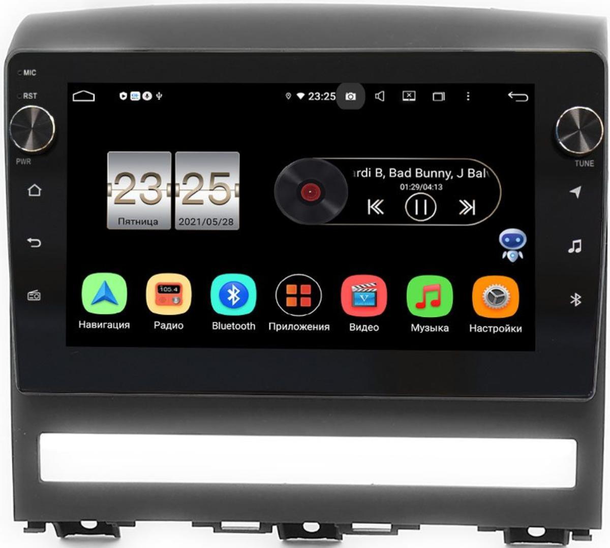 Штатная магнитола LeTrun BPX409-9266 для Fiat Albea, Idea, Palio II, Siena 1996-2017 на Android 10 (4/32, DSP, IPS, с голосовым ассистентом, с крутилками) (+ Камера заднего вида в подарок!)