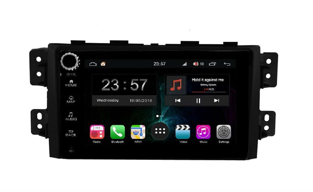 Штатная магнитола FarCar s300-SIM 4G для KIA Mohave на Android (RG465RB) (+ Камера заднего вида в подарок!)