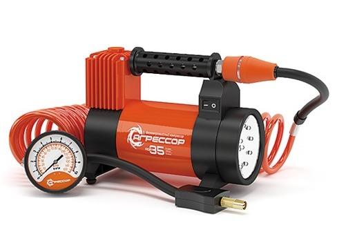 Компрессор автомобильный Агрессор AGR-35L кабель vention аудио витой jack 3 5 mm m jack 3 5 mm m 1 5м