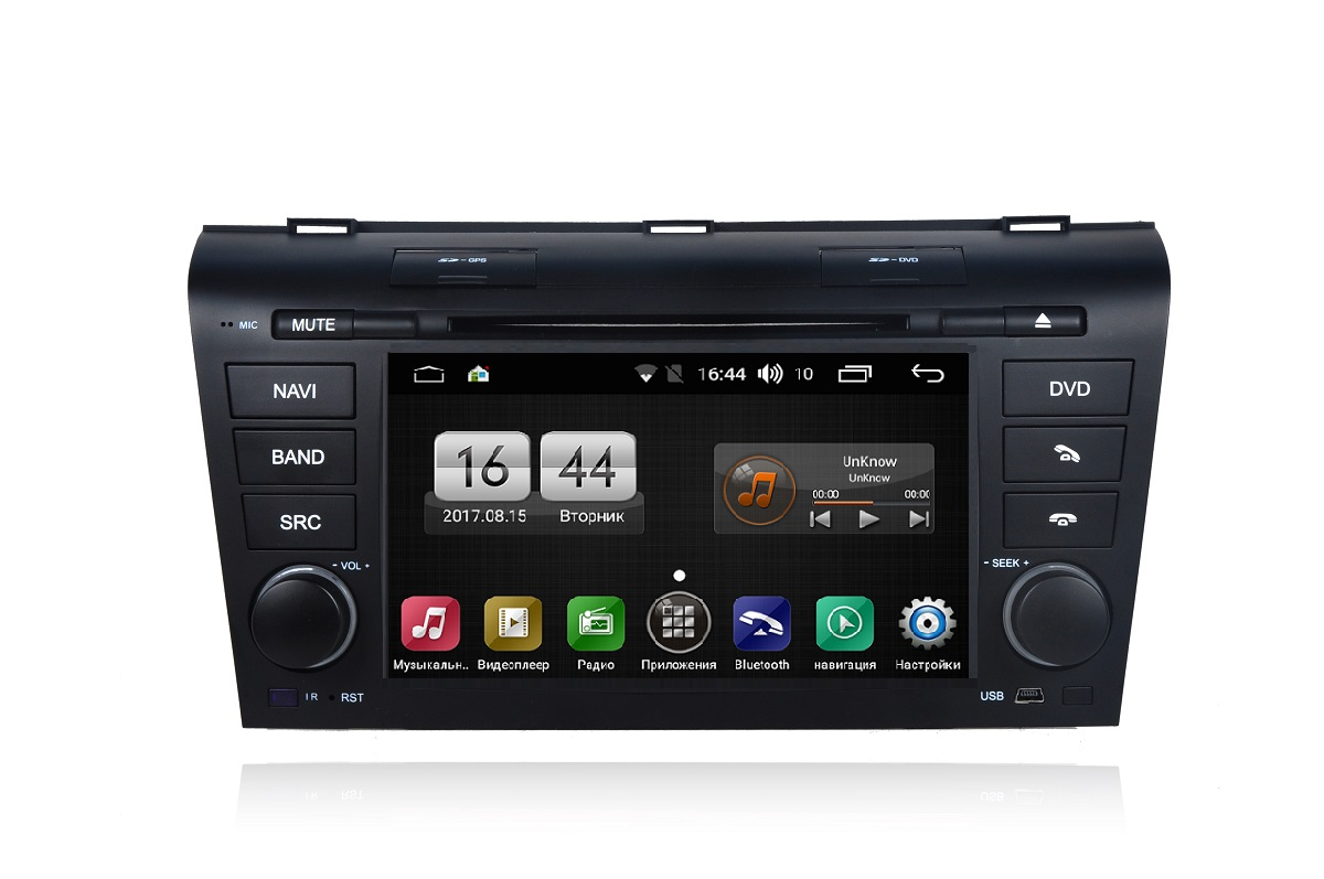 Штатная магнитола FarCar s170 для Mazda 3 на Android (L161) ipega pg 9017s wireless bluetooth 3 0 gamepad for android 3 2 ios 4 3 pc