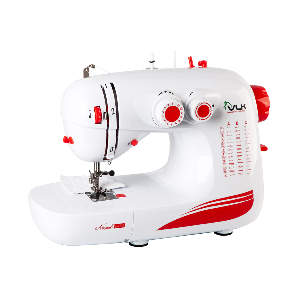 Швейная машина VLK Napoli 2450 (белый) швейная машина endever vlk napoli 1400
