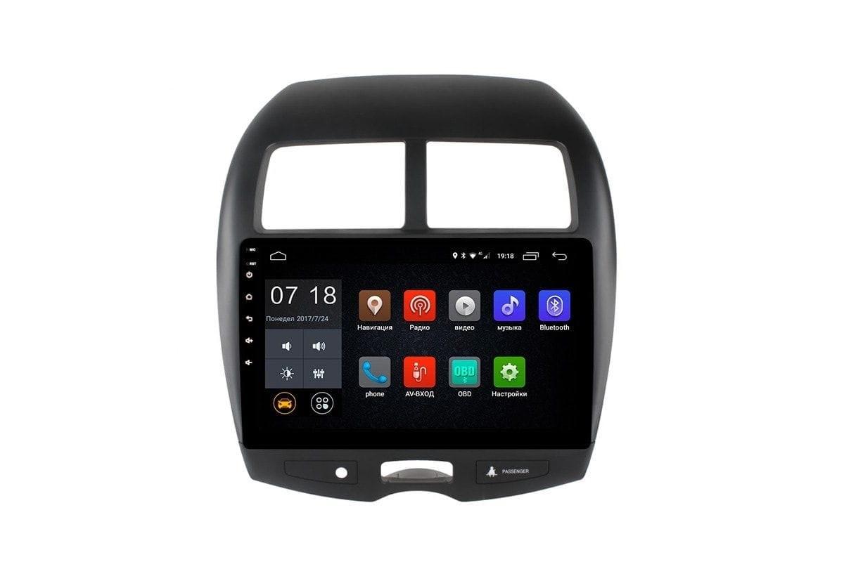 Штатная магнитола Peugeot 4008 2012-2018 LeTrun 1884 Android 6.0.1 10 дюймов (4G LTE 2GB) (+ Камера заднего вида в подарок!)