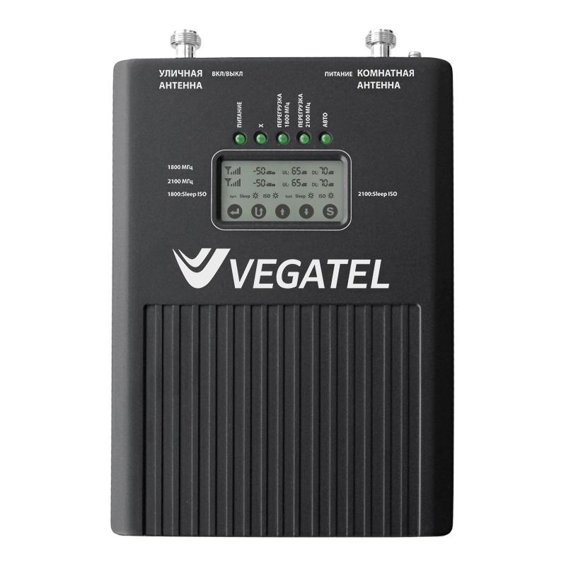Репитер VEGATEL VT2-1800/3G (LED) репитер vegatel vt2 900e 3g led