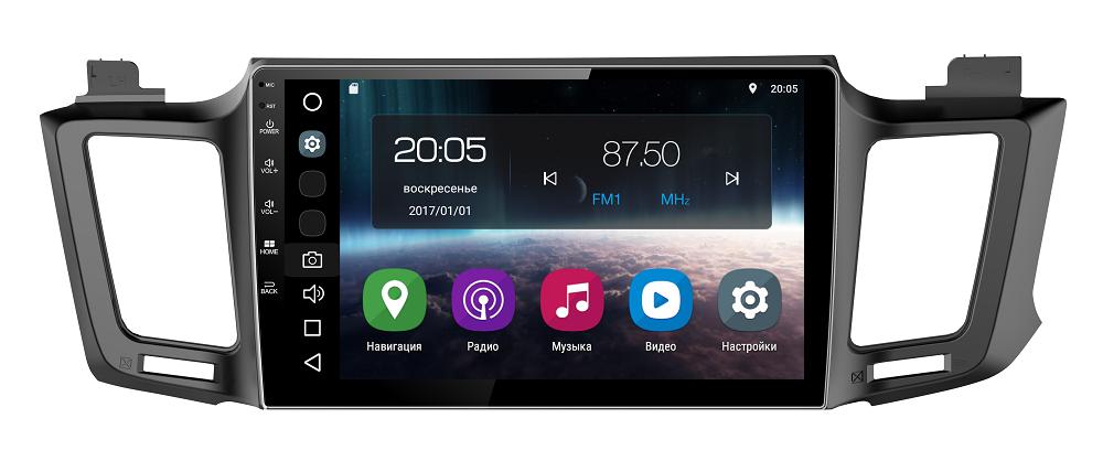Штатная магнитола FarCar s200 для Toyota RAV-4 (2013+) на Android (V468R)