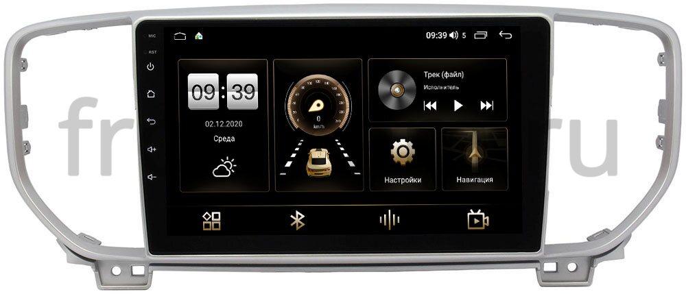 Штатная магнитола Kia Sportage IV 2018-2021 LeTrun 4166-9082 на Android 10 (4G-SIM, 3/32, DSP, QLed) (для авто с камерой) (+ Камера заднего вида в подарок!)
