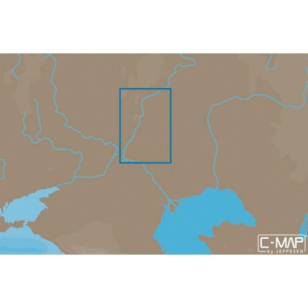 Карта C-MAP MAX-N RS-N223 (ВОЛГА. БАЛАКОВО-ВОЛГОГРАД) карта c map rs n217 озеро байкал и сибирские озера