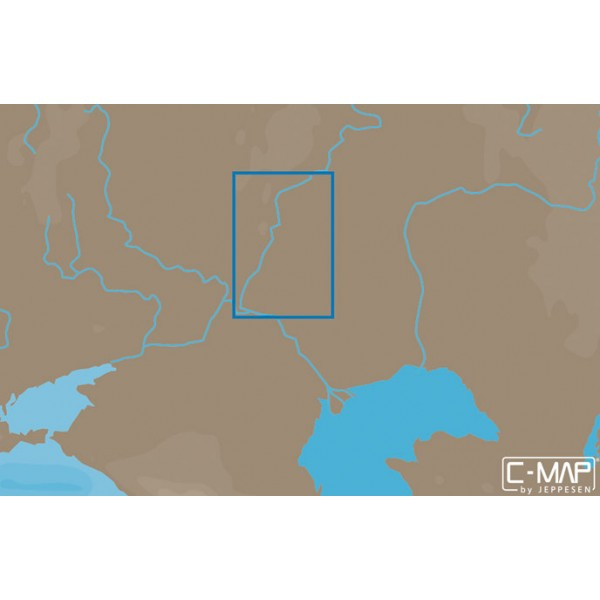 Карта C-MAP MAX-N RS-N223 (ВОЛГА. БАЛАКОВО-ВОЛГОГРАД)