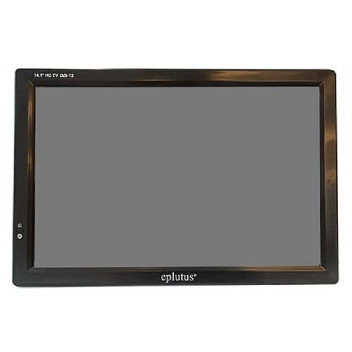 Цифровой телевизор Eplutus EP-144T (+ Разветвитель в подарок!) портативный dvd плеер c цифровым тюнером dvb t2 eplutus ep 1330t