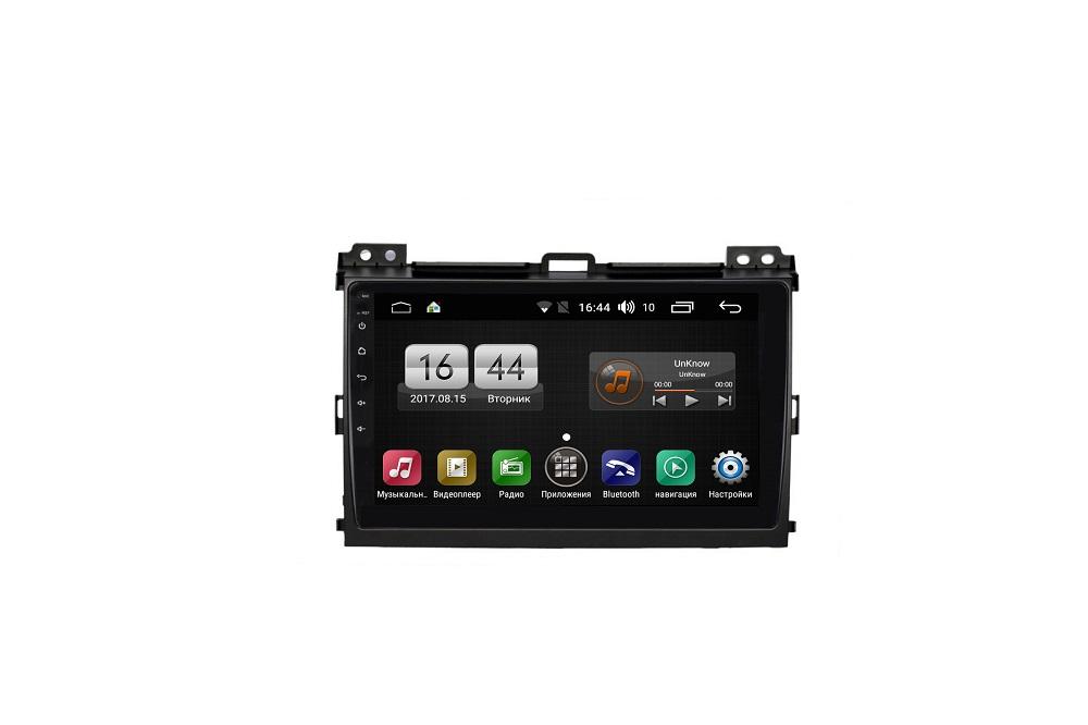Штатная магнитола FarCar s185 для Toyota Land Cruiser Prado 120 2002-2009 на Android (LY456R) (+ Камера заднего вида в подарок!)