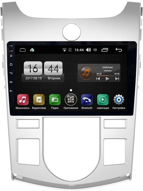 Штатная магнитола FarCar s300-SIM 4G для Kia Cerato 2009-2012 на Android (RG038R) (+ Камера заднего вида в подарок!) ветровики korea kia cerato sd 2009 2013