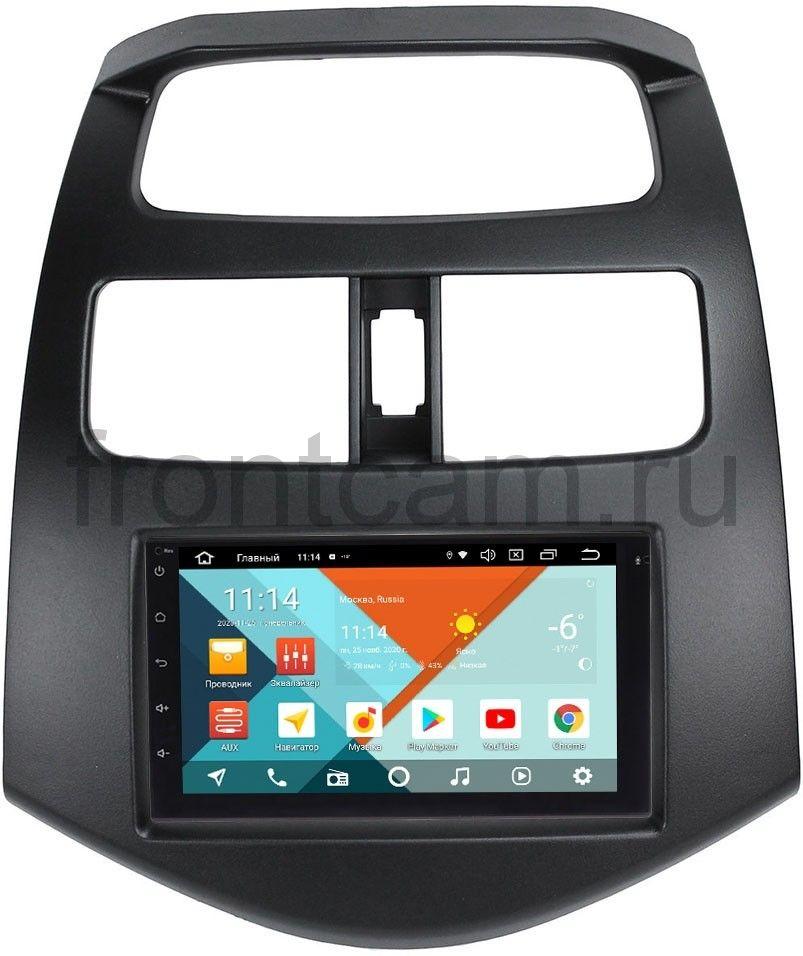 Магнитола в штатное место 2 din Chevrolet Spark III 2009-2016 Wide Media KS7001QR-3/32-RP-CVSP-81 на Android 10 (DSP CarPlay 4G-SIM) (+ Камера заднего вида в подарок!)