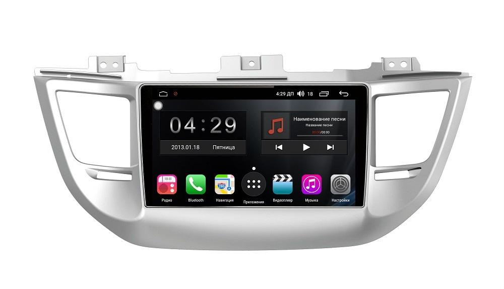 Штатная магнитола FarCar s300-SIM 4G для Hyundai Tucson III 2015-2018 на Android (RG546R) (+ Камера заднего вида в подарок!)