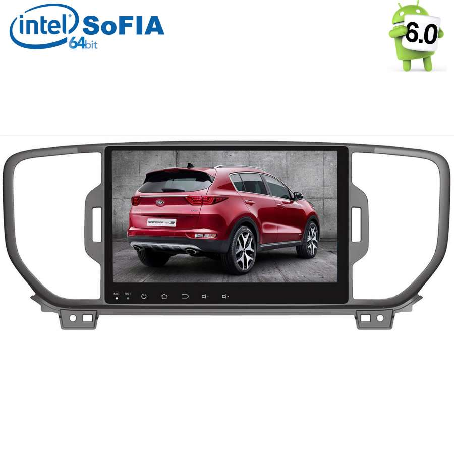 Штатная магнитола Kia Sportage IV 2016-2018 LeTrun 2125 на Android 6.0.1 Intel SoFIA hot sale 1gb ddr pc2700 laptop memory module ram 184 pin sodimm 333mhz memoria for intel amd compatible rams for notebooks