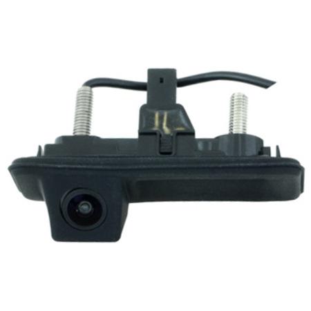 Камера заднего вида Intro VDC-084 для Skoda Fabia, Octavia, Superb в ручку багажника