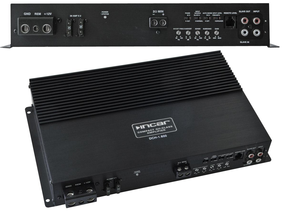 Автомобильный усилитель мощности Incar DCH-1.600 одноканальный фото