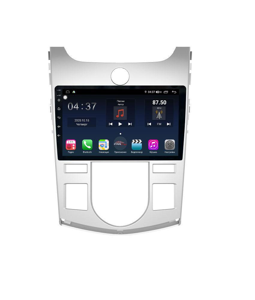 Штатная магнитола FarCar s400 для KIA Cerato на Android (TG038R) (+ Камера заднего вида в подарок!)