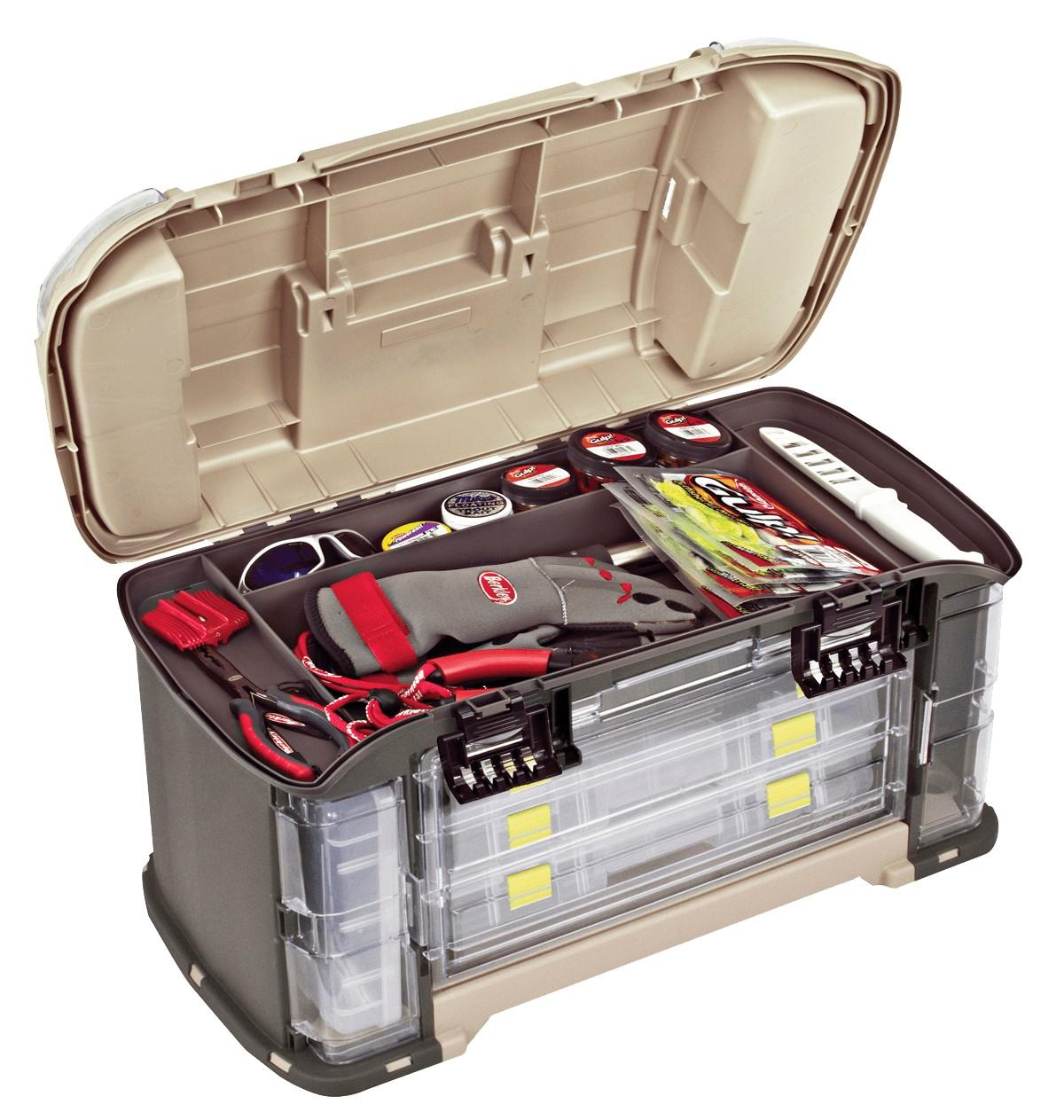 Ящик PLANO 787-010 с 7-ю разными коробками и верхним отсеком для аксессуаров фото
