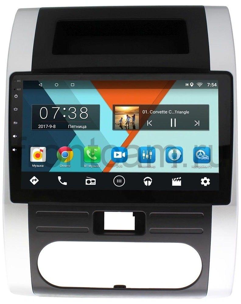 Штатная магнитола Nissan X-Trail II (T31) 2007-2014 Wide Media MT1011MF-2/16 на Android 7.1.1 (+ Камера заднего вида в подарок!)