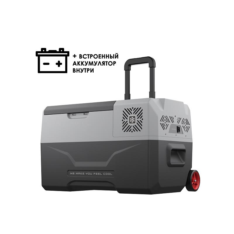 Автохолодильник компрессорный Alpicool CX30-S с внутренней батареей kомпрессорный автохолодильник alpicool cf 55 55л 12 24 220в