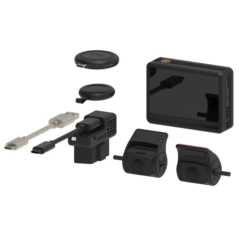 Видеорегистратор с выносными камерами TRENDVISION K2S (+ Антисептик-спрей для рук в подарок!)