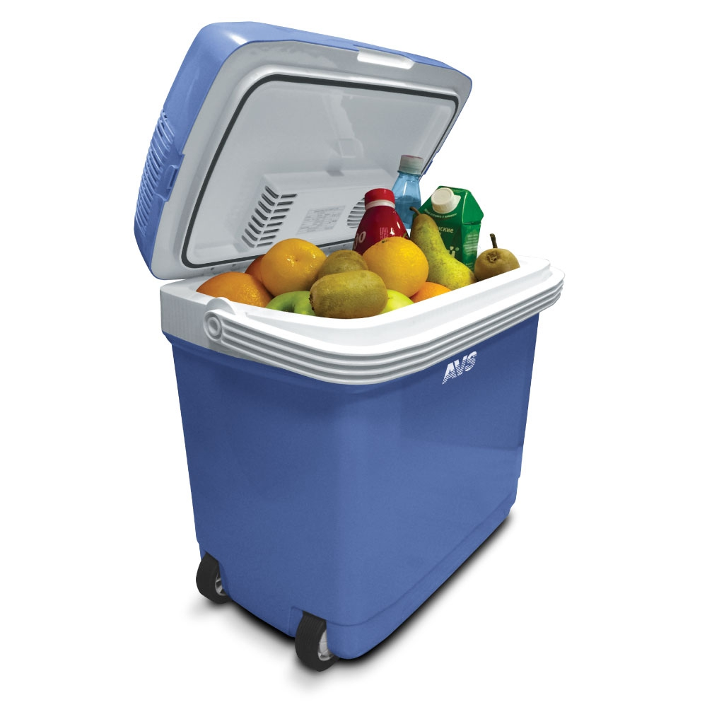 Фото - Термоэлектрический автохолодильник AVS CC-30B (30л, 12/220В) (+ Три аккумулятора холода в подарок!) автохолодильник endever voyage 006 30л синий и белый