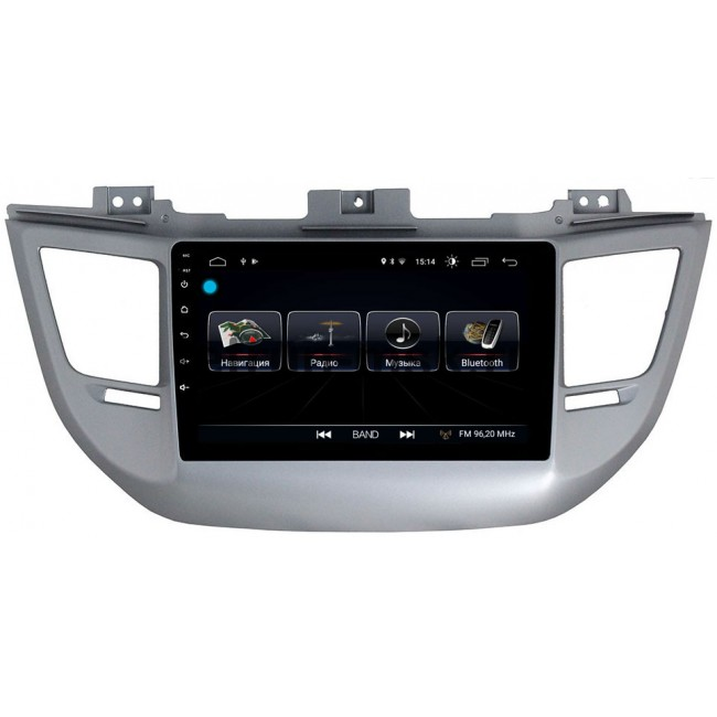 Штатная магнитола LeTrun 1860 для Hyundai Tucson III 2015-2017 Android 8.0.1 MTK-L 2Gb 7060b 7 inch 12v auto 2 din bluetooth tft screen car audio stereo mp3 mp4 mp5 player support aux fm usb sd mmc
