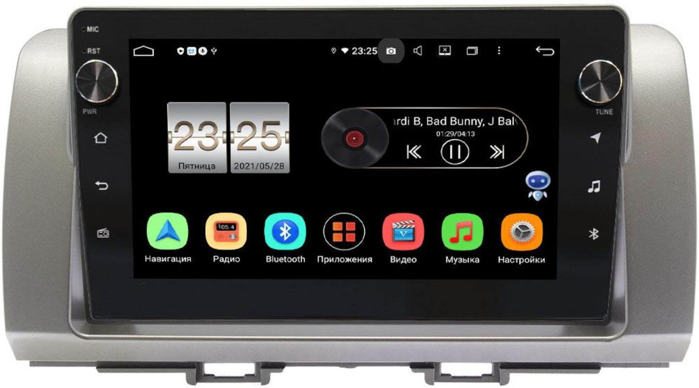 Штатная магнитола LeTrun BPX409-396 для Toyota bB II 2005-2016 на Android 10 (4/32, DSP, IPS, с голосовым ассистентом, с крутилками) (+ Камера заднего вида в подарок!)