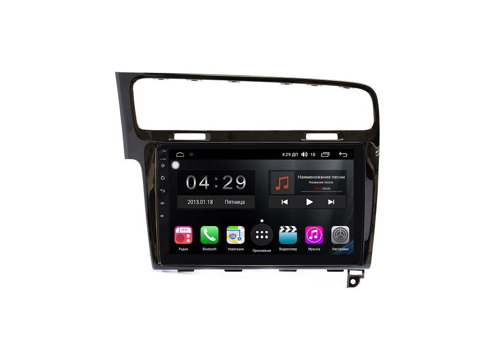 Штатная магнитола FarCar s200+ для VW Golf 7 на Android (A257R) lsqstar 7 android car dvd player w gps radio wifi canbus pip swc rds for vw sharan golf t5 polo b5