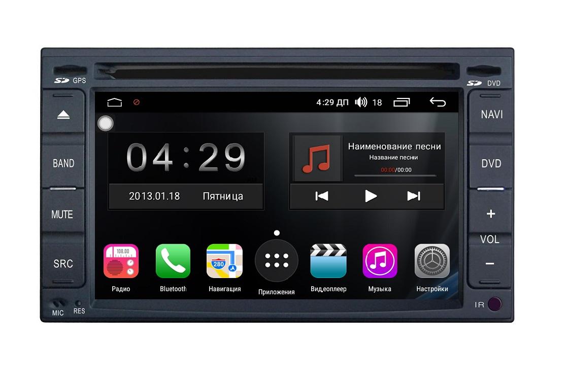 Универсальная магнитола 2 DIN FarCar s300-SIM 4G на Android (RG001) (+ Камера заднего вида в подарок!)