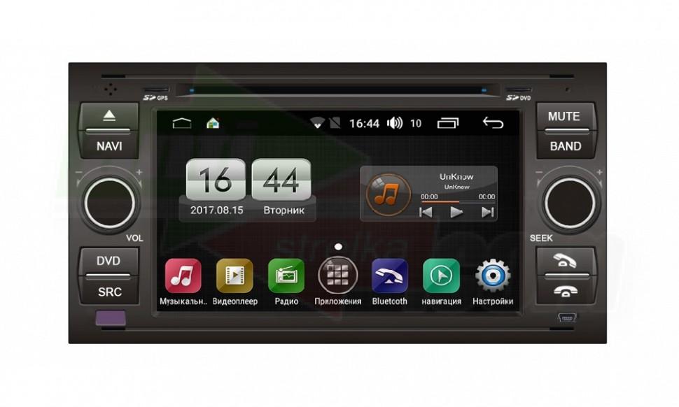 Штатная магнитола FarCar s170 для Ford Kuga, Fusion, C-Max, Galaxy, Focus на Android (L140) штатная магнитола farcar s170 для mercedes benz c clk g vito vaneo viano на android l171