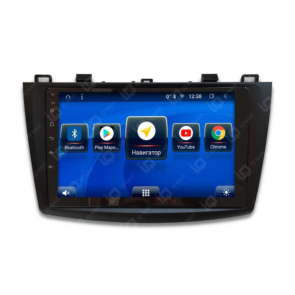 Автомагнитола IQ NAVI T58-1901CFHD Mazda 3 (BL) (2009-2013) 9