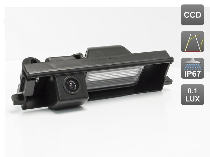 CCD штатная камера заднего вида с динамической разметкой AVIS Electronics AVS326CPR (#098) для TOYOTA RAV4 / CHERY TIGGO