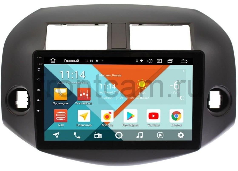 Штатная магнитола Toyota RAV4 (XA30) 2006-2013 Wide Media KS1001QM-2/32 DSP CarPlay 4G-SIM на Android 10 (+ Камера заднего вида в подарок!)