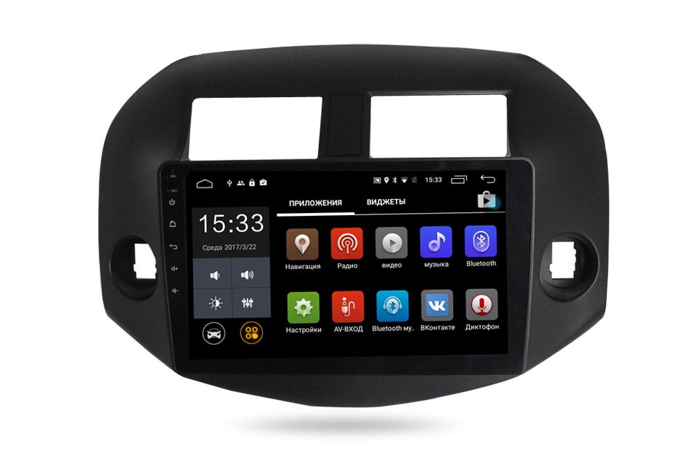 Штатная магнитола Parafar 4G/LTE с IPS матрицей для Toyota RAV4 2006-2012 на Android 7.1.1 (PF018) штатная магнитола redpower 31018 ips toyota rav4 2012