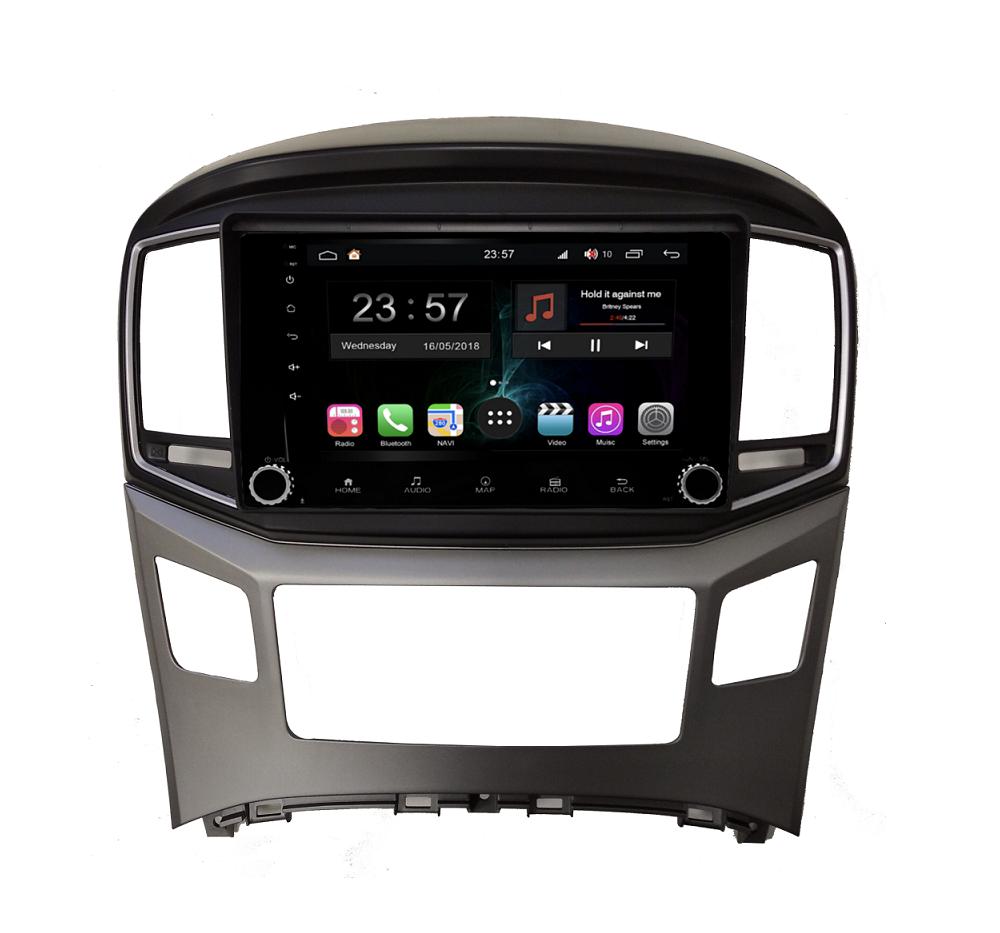 Штатная магнитола FarCar s300-SIM 4G для Hyundai Starex H1 на Android (RG586RB) (+ Камера заднего вида в подарок!)