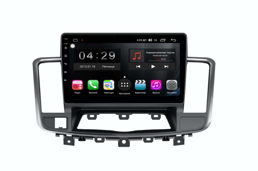 Штатная магнитола FarCar s300-SIM 4G для Nissan Teana на Android (RG1076R) (+ Камера заднего вида в подарок!)