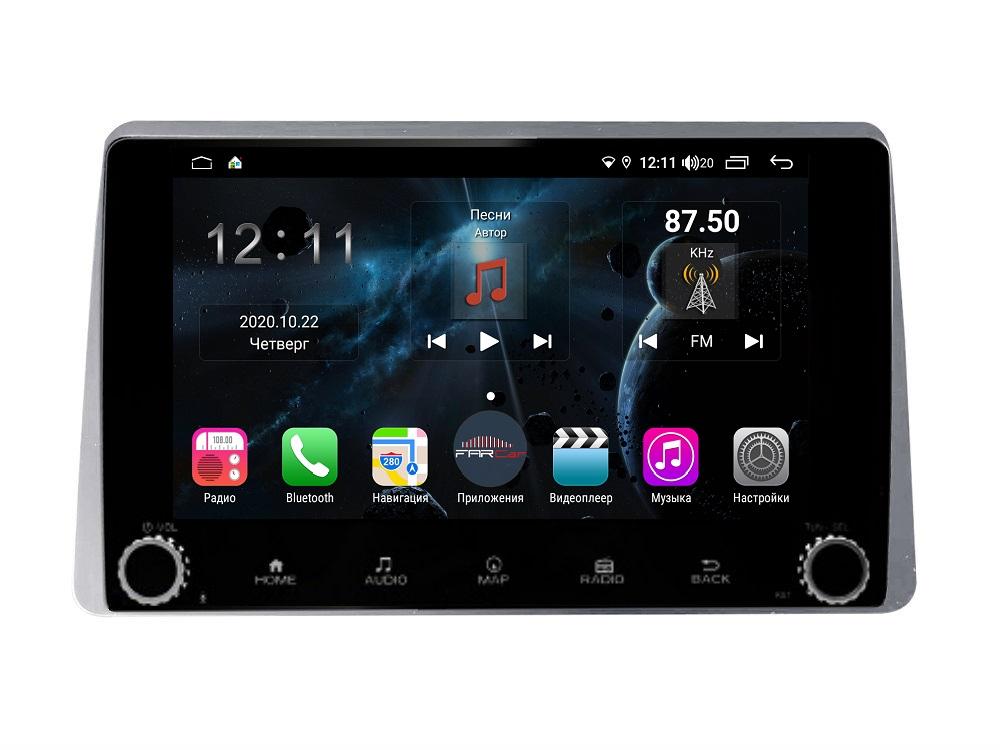 Штатная магнитола FarCar s400 для Renault Duster на Android (H1222RB) (+ Камера заднего вида в подарок!)