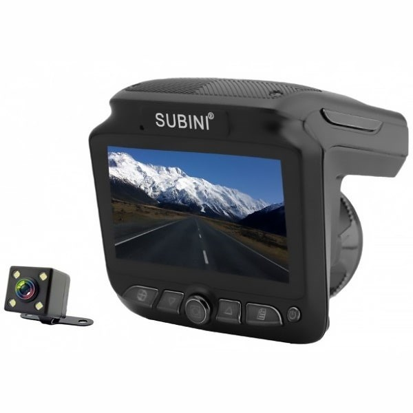 Видеорегистратор с радар-детектором Subini SV-200 (+ Разветвитель в подарок!) видеорегистратор 5 в 1