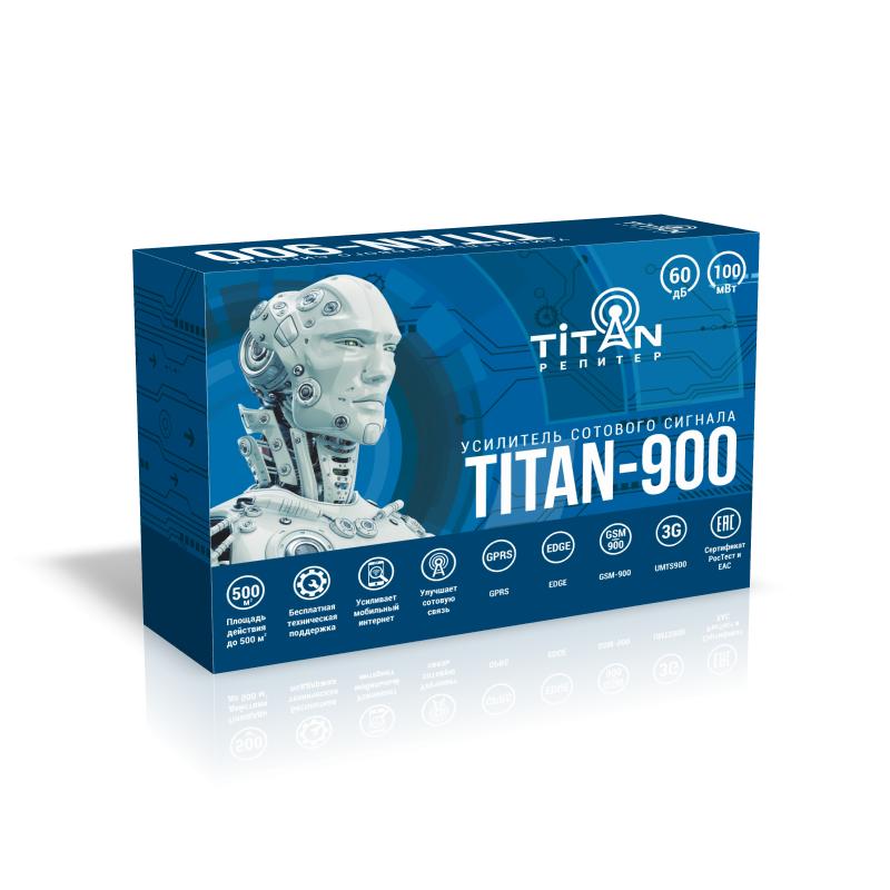цена на Усилитель сигнала сотовой связи (репитер) Titan-900