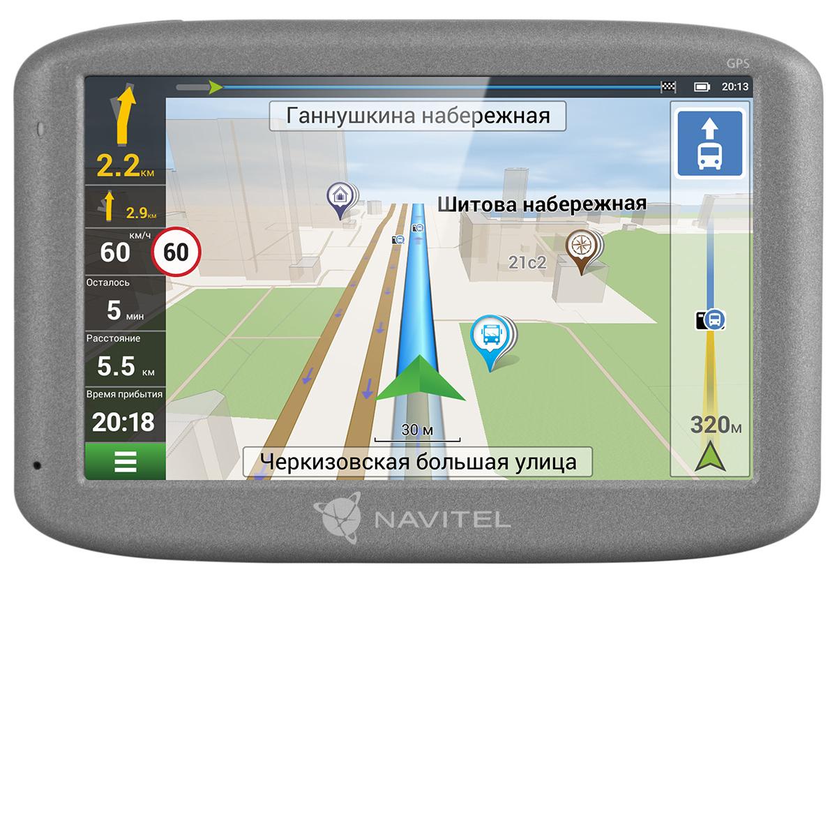 Спутниковый GPS навигатор Navitel N500 gps навигатор для пешехода