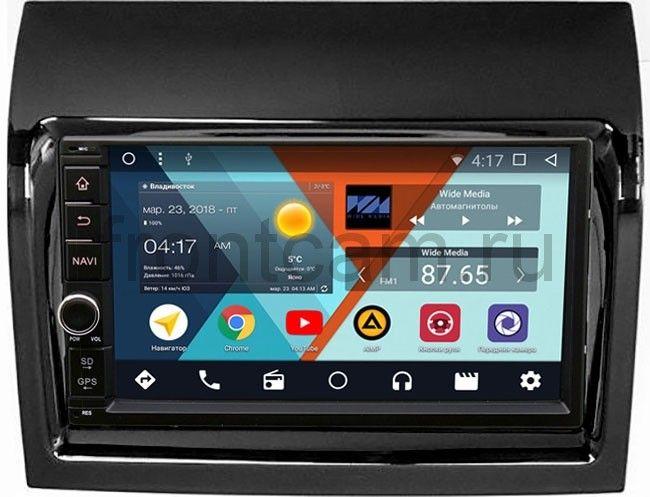Штатная магнитола Wide Media WM-VS7A706-OC-2/32-RP-11-559-71 для Fiat Ducato IV 2013-2018 Android 8.0 штатная магнитола wide media wm vs7a706 oc 2 32 rp 11 354 70 для fiat ducato iii 2006 2013 ducato iv 2013 2018 android 8 0