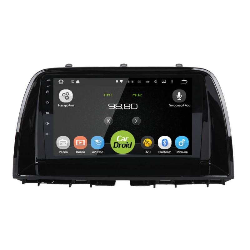 Штатная магнитола Roximo CarDroid RD-2410F для Mazda CX-5 I 2011-2017 (Android 8.0) (+ Камера заднего вида в подарок!)