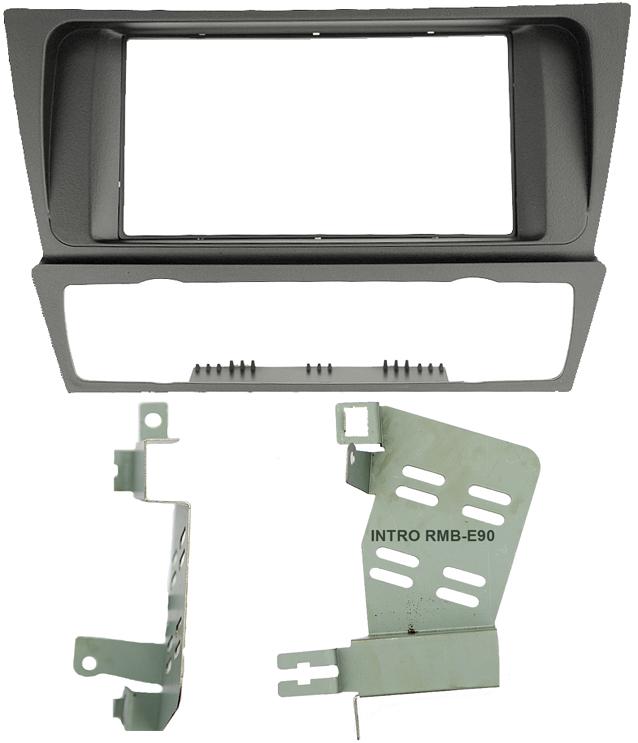 Переходная рамка Intro RBW-E90 для BMW 3 (Е90,91,92) 04+ 2din (крепеж)