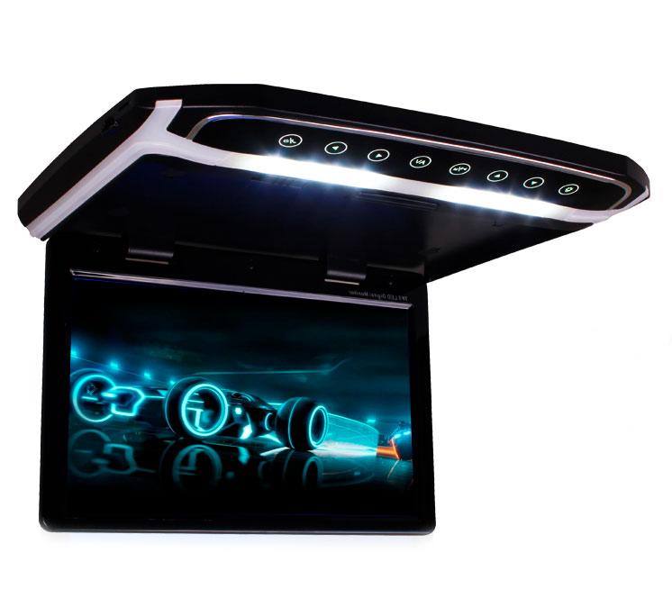 Автомобильный потолочный монитор 17,3