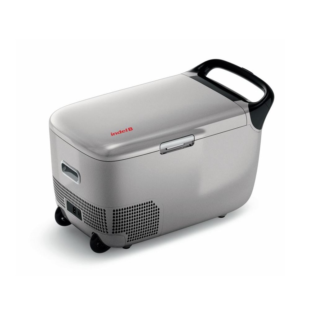 Автохолодильник компрессорный Indel B TB28BTH DT на колесиках (+ Три аккумулятора холода в подарок!)