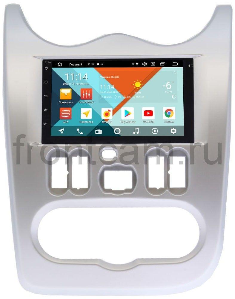 Штатная магнитола Lada Largus 2012-2019 Wide Media MT7001PK-2/16-RP-RNLG-48 на Android 9.1 (DSP 3G-SIM) (+ Камера заднего вида в подарок!)