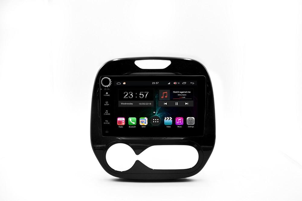 Штатная магнитола FarCar s300-SIM 4G для Renault Kaptur на Android (RG733RB) (+ Камера заднего вида в подарок!)
