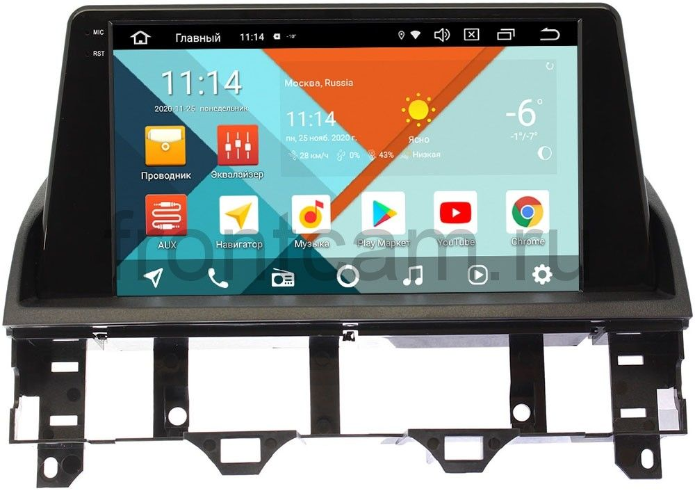 Штатная магнитола Mazda 6 (GG) 2002-2007 Wide Media KS9219QM-2/32 DSP CarPlay 4G-SIM Android 10 (+ Камера заднего вида в подарок!)